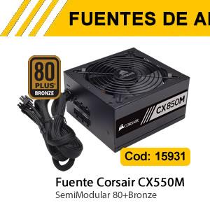 Fuente Corsair CX550M