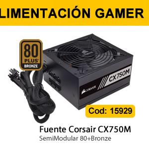 Fuente Corsair CX750M