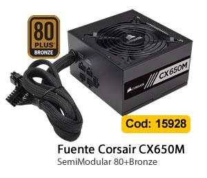Fuente Corsair CX650M