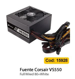 Fuente Corsair VS550