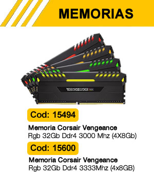 Memoria Corsair Vengeance