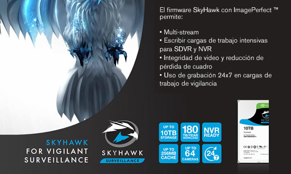caracteristicas destacadas de Skyhawk