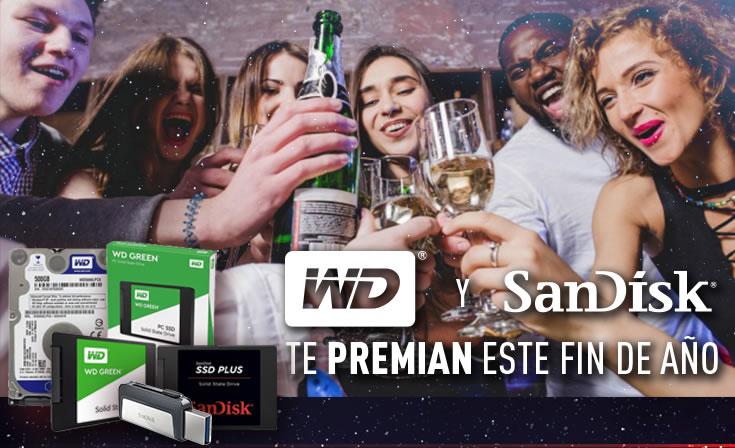 WD y Sandisk te premian este fin de año