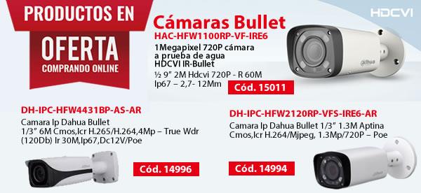 Camaras Bullet Dahua