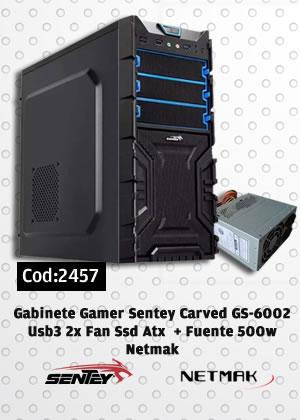 Combo Gabinete Gamer 2