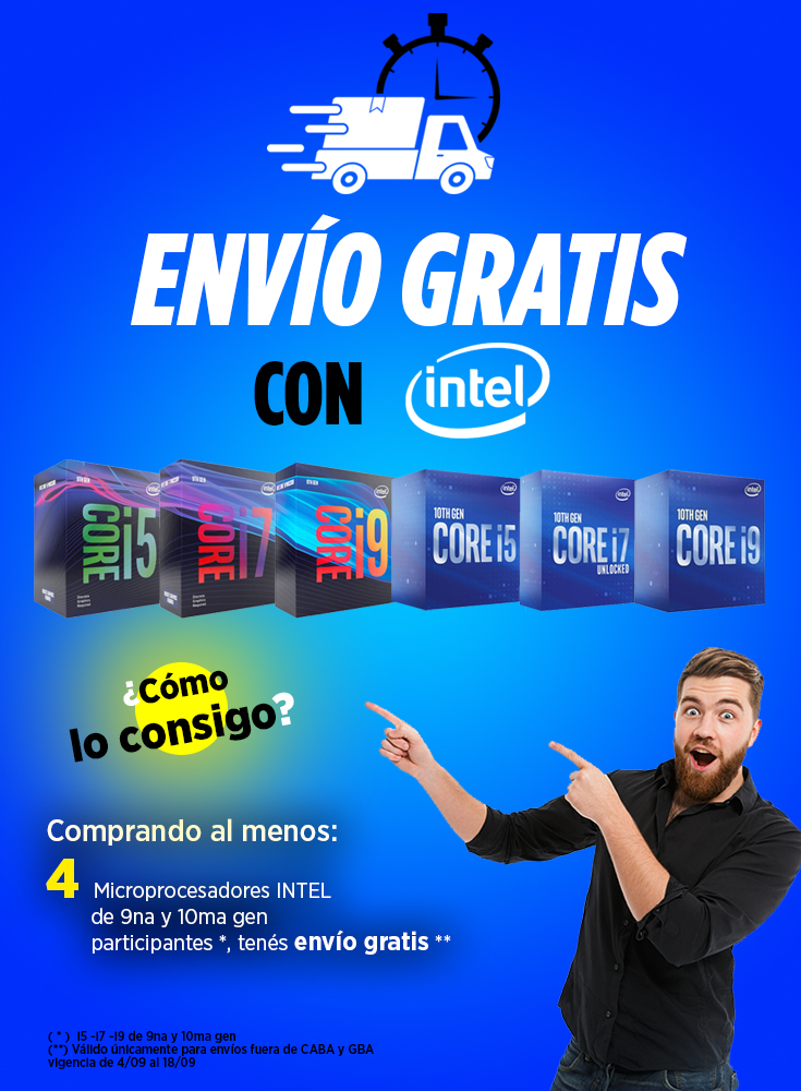 Envio Gratis con Intel